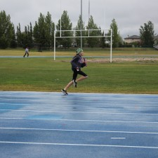 Anchor Leg - Pee Wee Girls Sprint Medley Relay - 3rd  Photo credit: E Nyssen-Latko