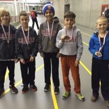2016 Calgary Indoor Series Medallists