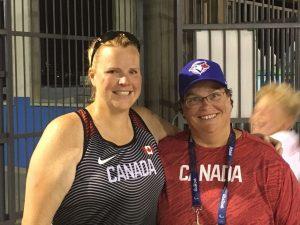 Jenn Brown and Kim Cousins at Rio Paralympics