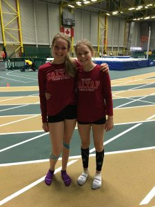 Meghan & Carlee after the Pentathlon PC S.Read