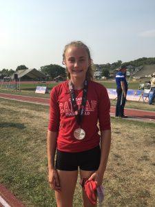 Sarah - Silver Medal