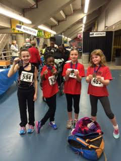 Cheetahs at the Alberta Indoor Games – Relay Provincials & the Combined Events Championship