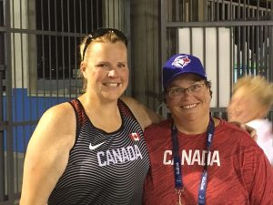 Jenn Brown and Kim Cousins at Rio Paralympics