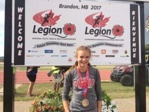 Ella 300m Silver Medallist