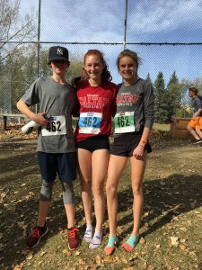 5th place, Youth Mixed Division - Owen, Kya, Ella