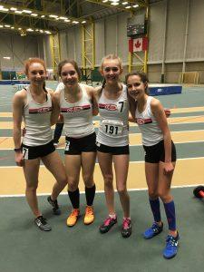 4x400m Silver Medallist - Kya, Danijela, Jaya, Jessica PC S.Read