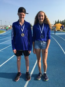 Jaxon (GOLD) and Sarah (SILVER) Pole Vault